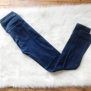 Mother the looker high waisted jean sz 25